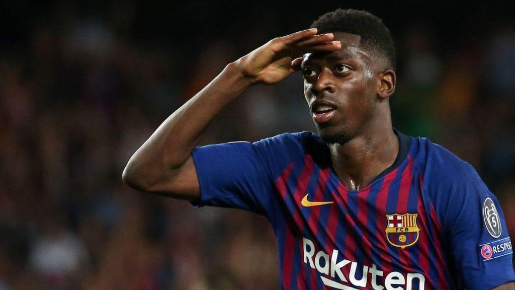 Ousmane dembélé barcelone manchester united